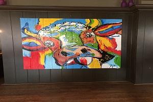 Kunstwerken hotel Victoria